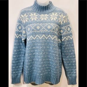 Women's Pendleton sz L wool blend winter sweater